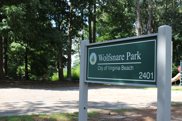 Picture                   of Wolfsnare Plantation City Park